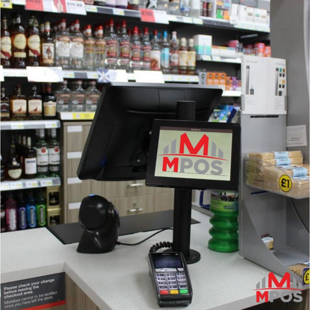 Electronic point of sale system (POS) and software